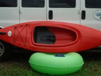 These are extremely durable, used sit-in kayaks feature