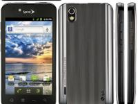 LG's first Android phone for Sprint. This CDMA