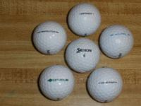 Most of my used Srixon balls are in excellent condition