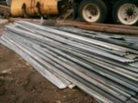 3 wide 10'-25' ft long used  cell and galvinized