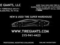 TIRE GIANTS, LLC 8301 TORRESDALE AVE, #11 REAR OF