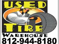 AT USED TIRE WAREHOUSE YOU WILL FIND THE BEST DEALS