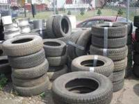 used tires mixed sizes an sets call for info,steve