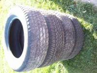 4 Used 245/65-17 Michelin tires (1 is a Yokohama) off a