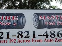 We carry used and new tires ! most sizes in stock !