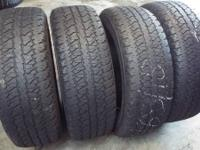 I've available some Firestone 275/65R18 wheels. These