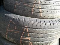 We sell used original and recap tires, also for