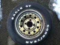 2 Trailer Rims With Tires 7 14 5 Davenport For Sale In Oneonta