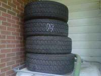 8 Good year eagle tires 265/60/R17 $80 a set. 4