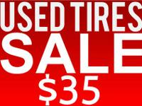 NEW AND USED TIRES DON'T MISS THIS DEAL SALE SALE SALE