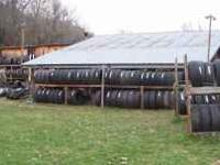 We have a large selection of used tires in excellent