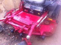 """Used Toro Z Master 287L ZTR zero turn mower 62 """" cut"""