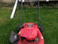 Troy-Bilt TB110 140cc 21-in 3-in-1 Gas Push Lawn Mower