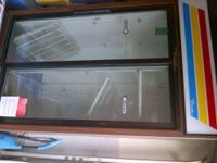 Used True GDM-33 Merchandiser Refrigerator, two