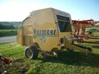 USED VERMEER 605 XL PLUS, 2003 MODEL WITH ENDLESS