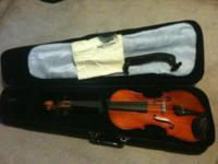 Violin, case, bow, resin etc.-ready to play-call  ask