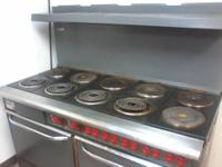 Used Vulcan 10 Burner/2 Oven Electric Commercial Range