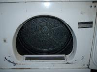 For sale a used Maytag Washer and GE Electric Dryer.