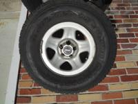 This is a FULL SET of FOUR Jeep Wrangler Wheels and