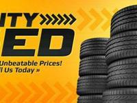 PRE-OWNED TIRES SALE BEGINNING AT $30,00 INSTALLED.