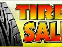 PRE-OWNED TIRES SALE STARTING AT $30,00 INSTALLED.