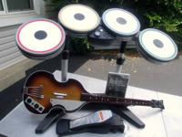 This is a used Wii Beatles rock band limited edition