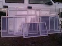 USED WINDOWS IN ALL SIZES AND SHAPES PERFECT FOR