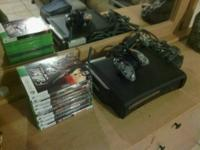 I'm selling my Xbox 360 Elite, 120 GB, with a wireless