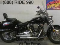 Used Yamaha Road Star 1600cc cruiser for sale with only
