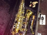 Selling a used Yamaha yas-23 alto saxophone. Was used