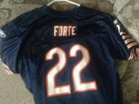 Used Chicago Bears Matt Forte Jersey. Nice condition.