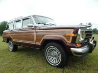 You are looking at a 1991 Jeep Grand Wagoneer with
