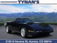 Check out our 1996 Chevrolet Corvette Base Convertible