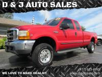 SOLD **LOW MILES** 1999 Ford F250 XLT Super Duty
