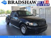 Recent Arrival! Black Clearcoat 2000 Ford F-150