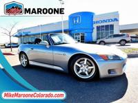 Existing Light Hail damage, Rare Car. 2000 Honda S2000