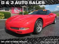 2001 Corvette Z06, 54K Miles, 6 Speed Manual, Red On