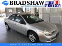 Bright Silver Metallic Clearcoat 2001 Dodge Neon SE KBB