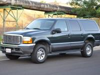 This 2001 Ford Excursion 4x4 is in great condition with
