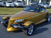 Inca Gold Pearl 2002 Chrysler Prowler RWD 4-Speed