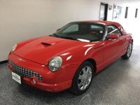 Torch Red Clearcoat 2002 Ford Thunderbird RWD 5-Speed