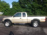 TRD V6 Auto Tacoma Crew Cab. Light tan color with