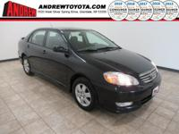 Recent Arrival! 29/38 City/Highway MPGBlack 2003 Toyota