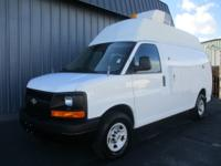 raised top cargo van one owner low miles a must see