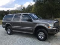 Very well maintained 2004 Ford Excursion 6.0L diesel.