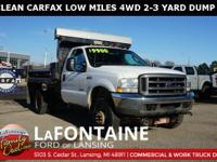 2004 Ford F-350SD XL DRW 2-3 YARD DUMP BODY, Oxford