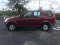 PRICE REDUCED!!  Check out this 2004 Honda CR-V with