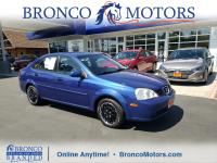 Blue 2004 Suzuki Forenza S FWD 4-Speed Automatic with