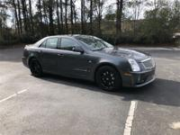 2007 Cadillac STS-V Light Gray Leather, 15 Speakers,