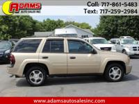 Check out this awesome 2007 Chev Trailblazer LS 4X4